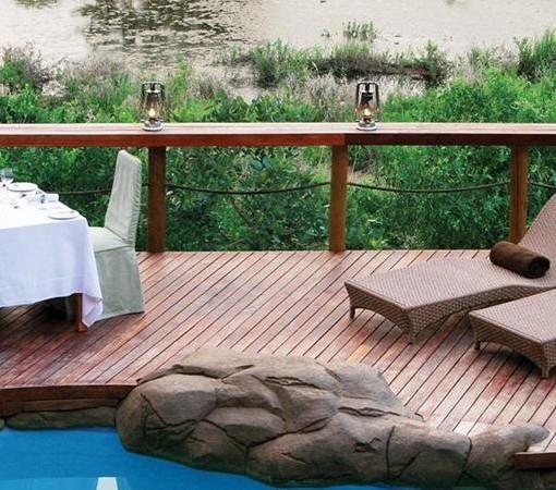 Jock Safari Lodge Main Lodge Pool Deck