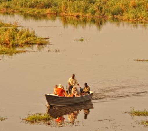 linyanti-boat
