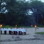 Rhino Post River Dinner