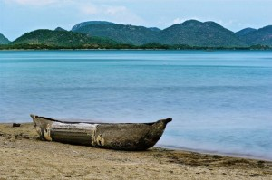 Malawi Lake Canoe