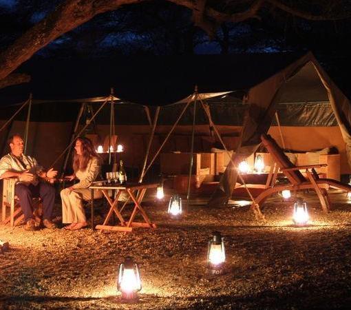 Amboseli Porini Camp Fire