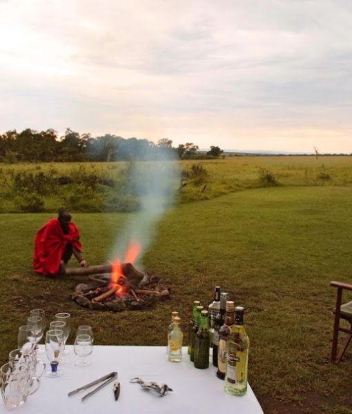 Elephant Pepper Camp Campfire