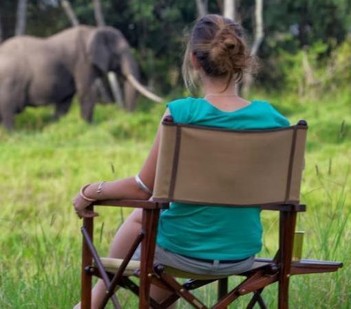 Elephant Pepper Camp Mess Area