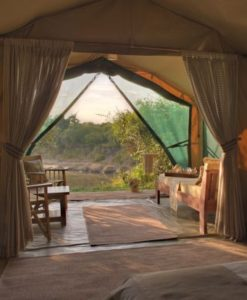 Rekero-Camp-luxury-guest-tent-view-2
