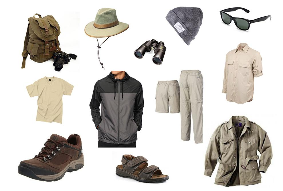 safari basics men