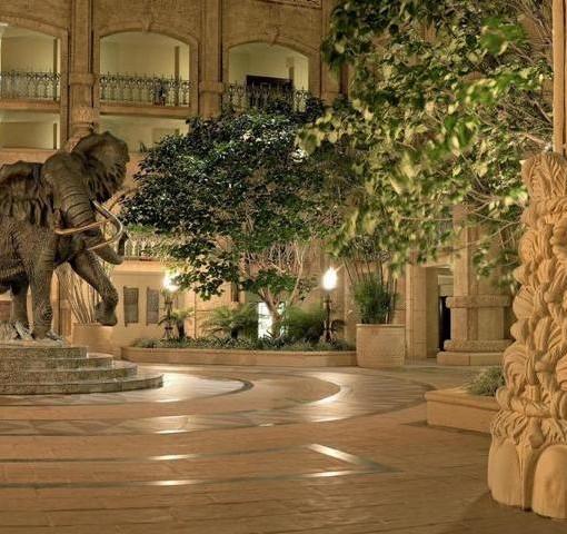 palace-lost-city-Shawu - elephant statue