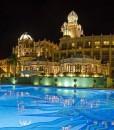 palace-lost-city-pool at night