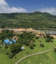 sun-city-hotel-Aerial view of Sun City Hotel with Gary Player Golf Course Cabanas and The Cascades